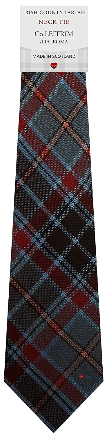 Co Leitrim Irish County Pure Wool Tie