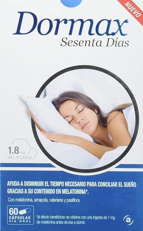 Actafarma Dormax Sesenta Días, 60 Cápsulas: Amazon.es: Salud y cuidado personal