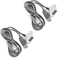 Suntrade 2x Xbox 360 Play and Charge Kit Replacement USB Charging Cable for Xbox 360 Wireless Game Controllers