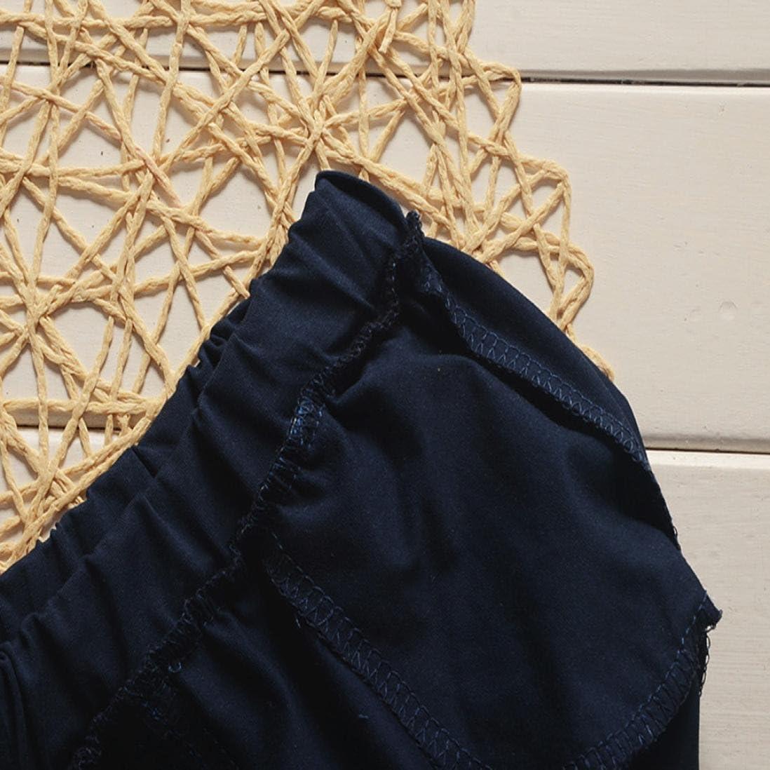 Gar/çon B/éb/é Ensembles 6~24 Mois LuckyGirls B/éb/é Gar/çons Barbe T-Shirt Tops Pantalons Courts Pantalons V/êtements de Mode-M/élange Coton