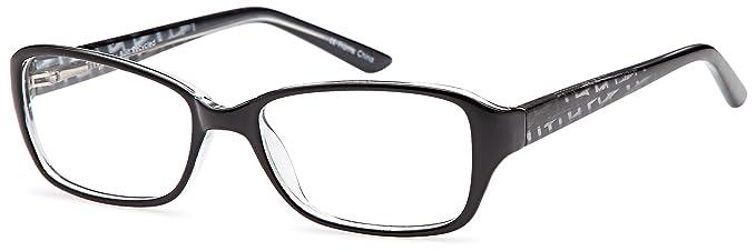 Amazon.com: DALIX Stimulating Prescription Glasses Frames 53-15-138 ...