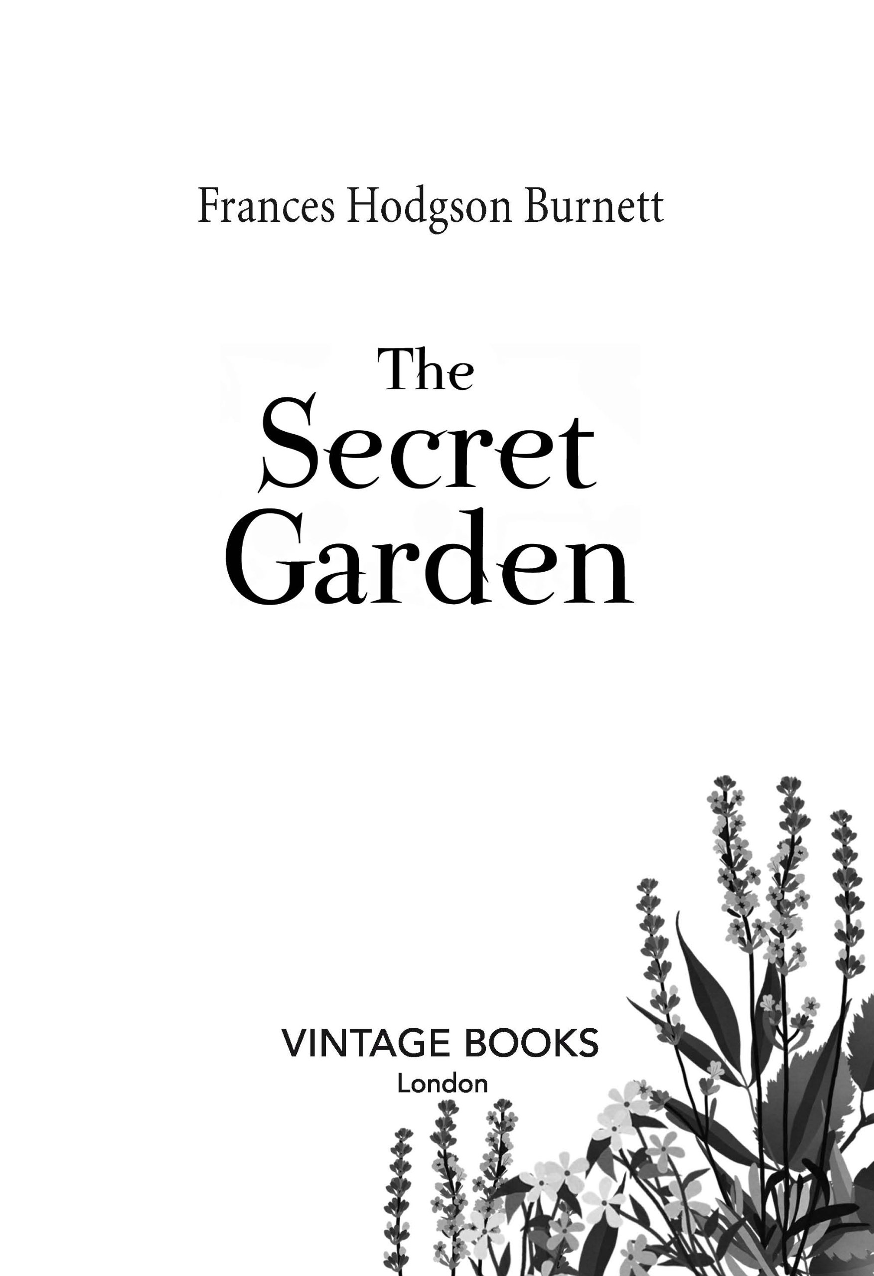 The Secret Garden (Vintage Childrens Classics): Amazon.es: Frances Hodgson Burnett: Libros en idiomas extranjeros