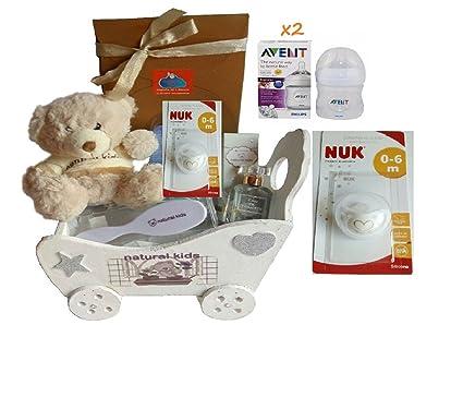 Canastilla/Cesta regalos bebé unisex: Amazon.es: Bebé