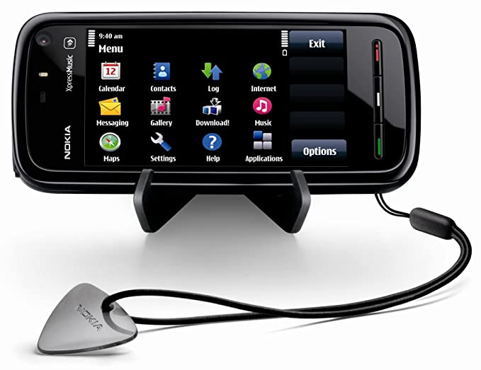 Nokia 5800 XpressMusic Unlocked Phone with US 3G, GPS with Free Voice  Navigation, Wi-Fi, and 4 GB MicroSD Card--US Version with Warranty (Black)