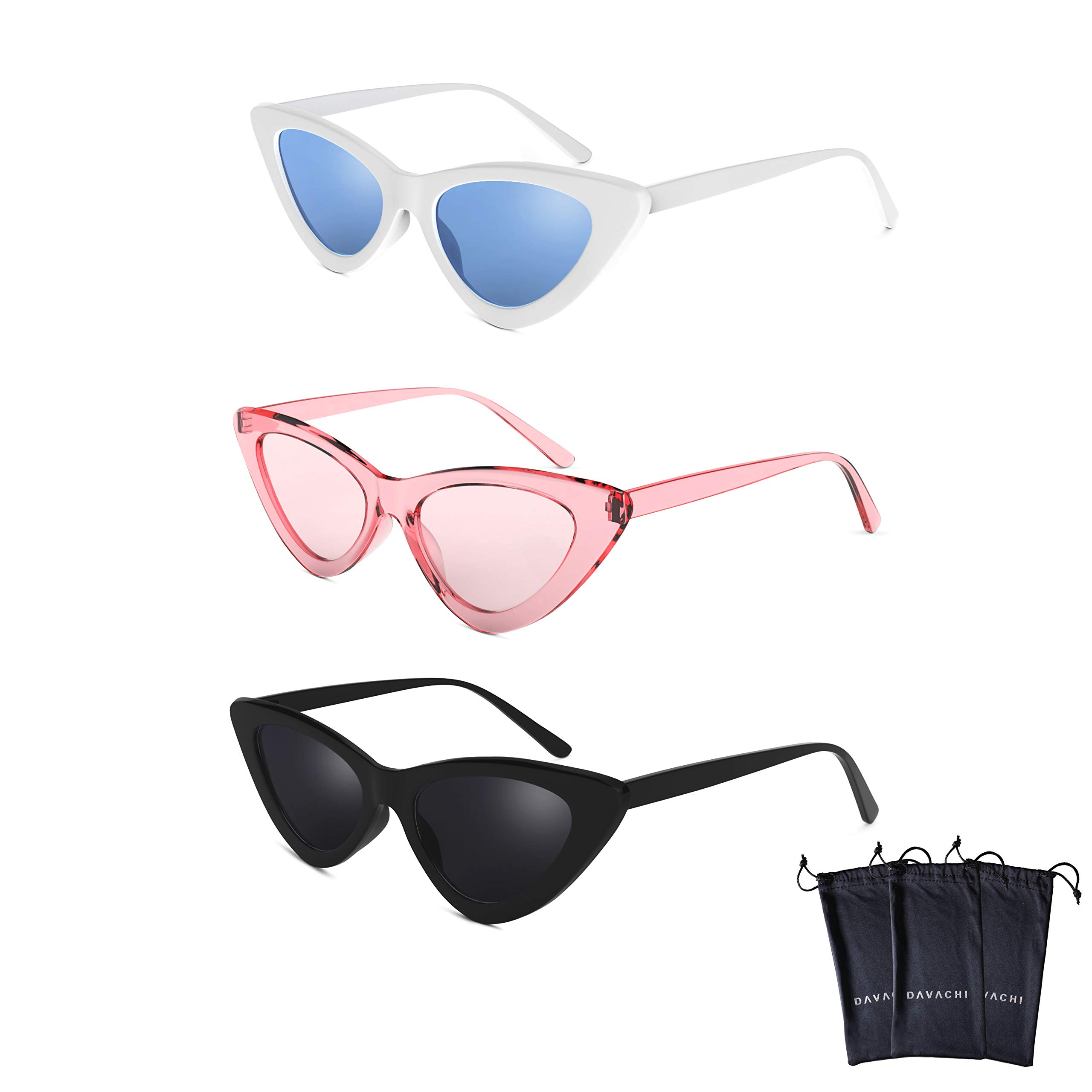 c444a13b2d Davachi Cat Eye Clout Goggles Sunglasses - TiendaMIA.com