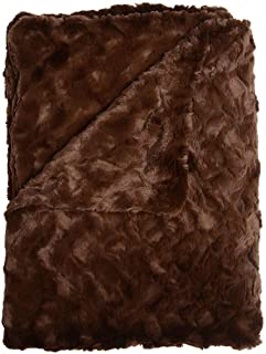 product image for Elizabeth Cotton Luxe Faux Fur Throw