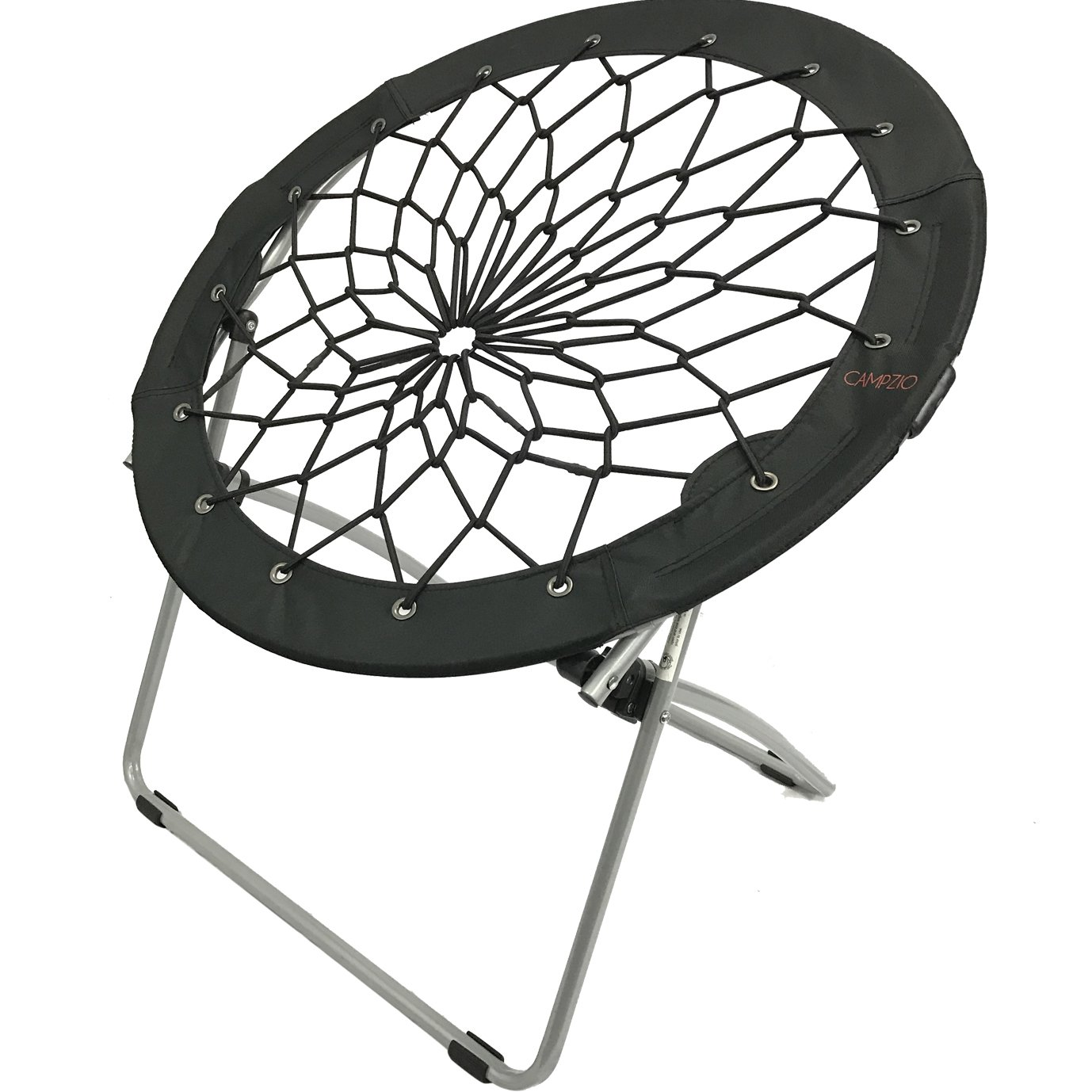 Bungee chair purple - Amazon Com Campzio Bungee Chair Round Bungee Chair Folding Comfortable Lightweight Portable Indoor Outdoor Black Sports Outdoors