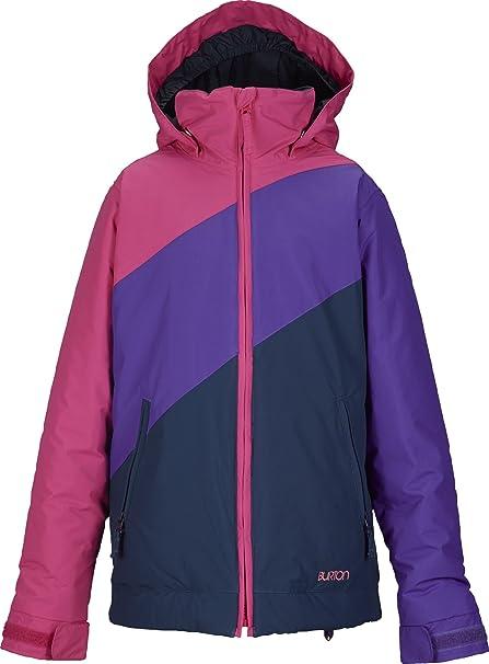 Burton Snowboardjacke Girls Hart Jacket - Chaqueta de esquí para niña, color multicolor, talla XL