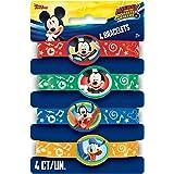 Disney Mickey Roadster Stretchy Bracelets, 4ct