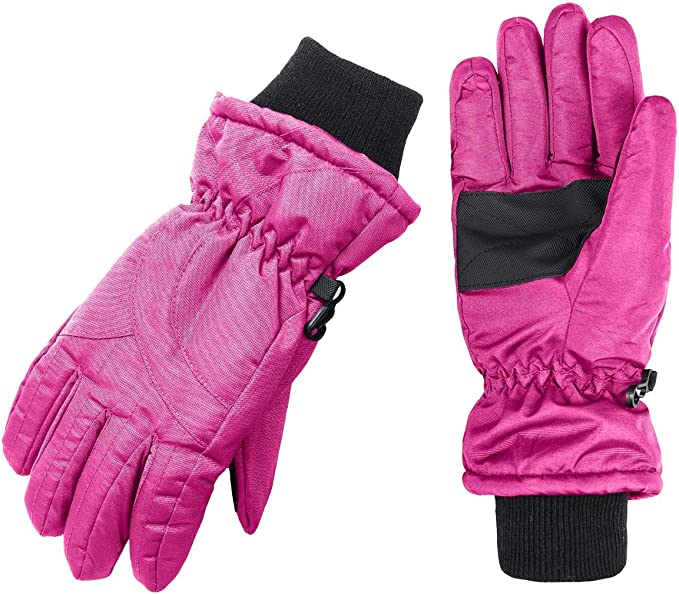 Wantdo Women's Waterproof Insulated Gloves