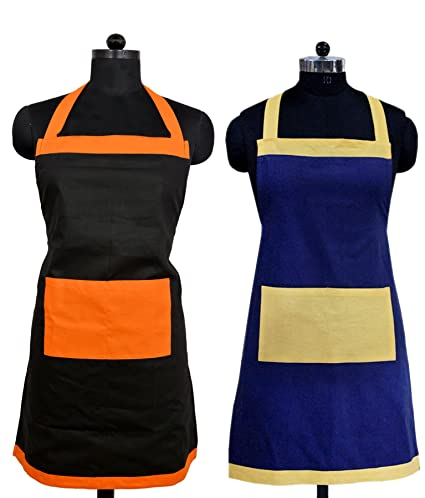 Switchon Waterproof Polyester Apron Combo (Multicolour)
