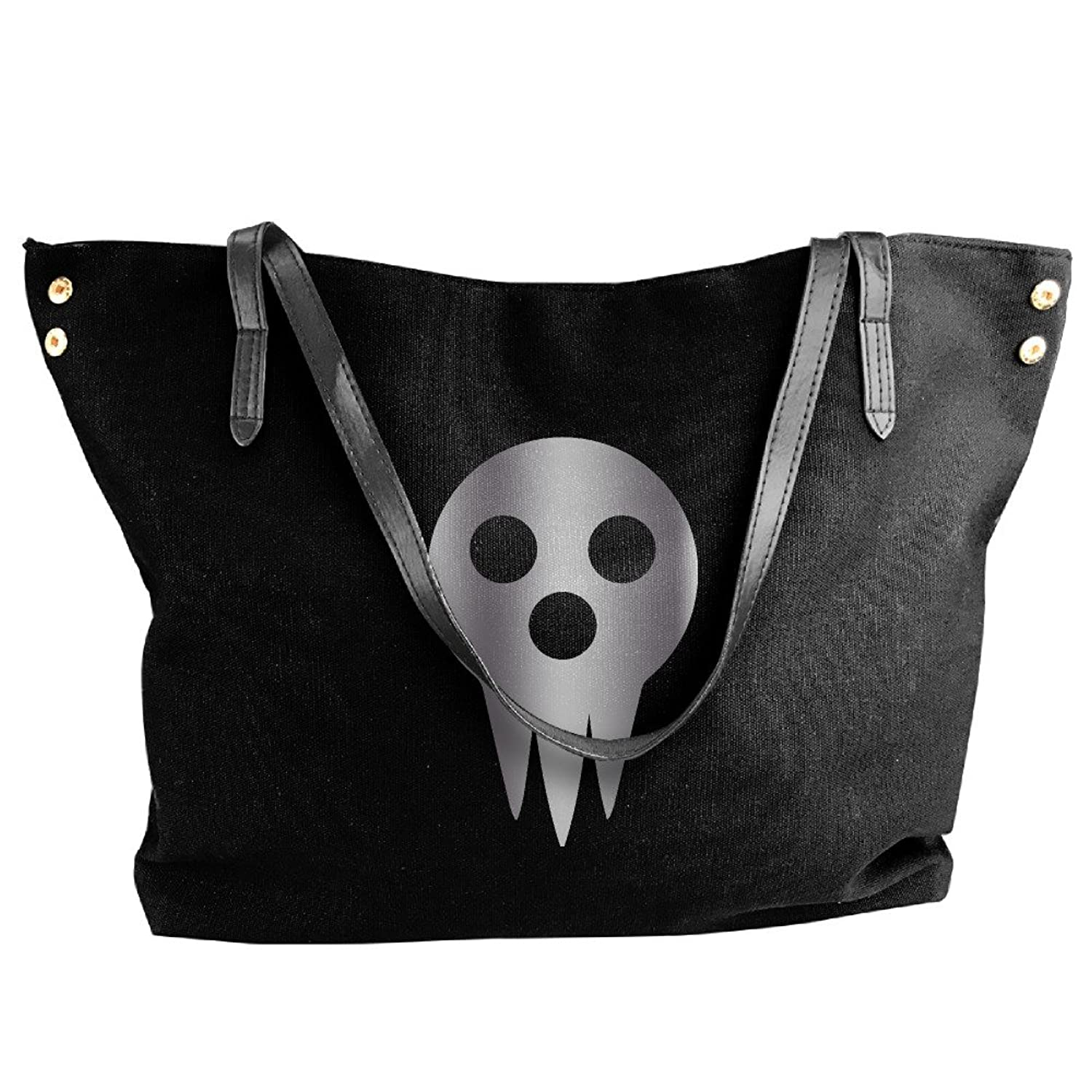 Soul Eater Death The Kid Lo Platinum Style Canvas Top Handle Handbags For Women