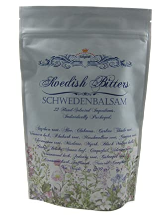 Swedish Bitters, 22 Dry Herbs Mixture (Original Maria Treben Recipe) 200grams
