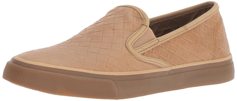Sperry Top-Sider Women's Seaside Emboss Weave Sneaker B078SHXWGS 6 M US|Tan