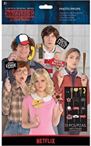 Assorted Stranger Things Photobooth Props- 13 pcs.