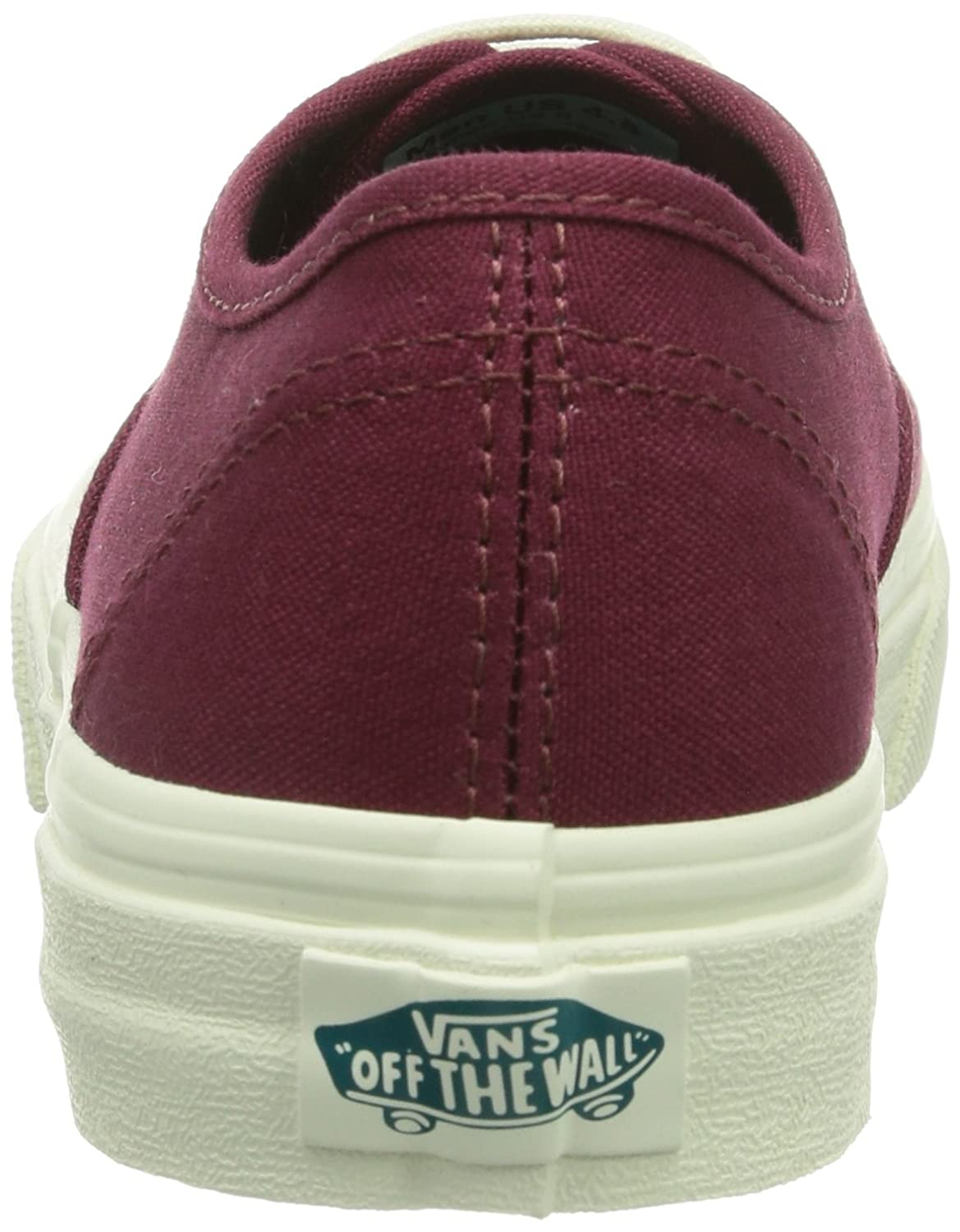 Vans U AUTHENTIC SLIM Unisex-Erwachsene Sneakers / Rot ((Pop) Cordovan/ / Sneakers Dxt) 242984
