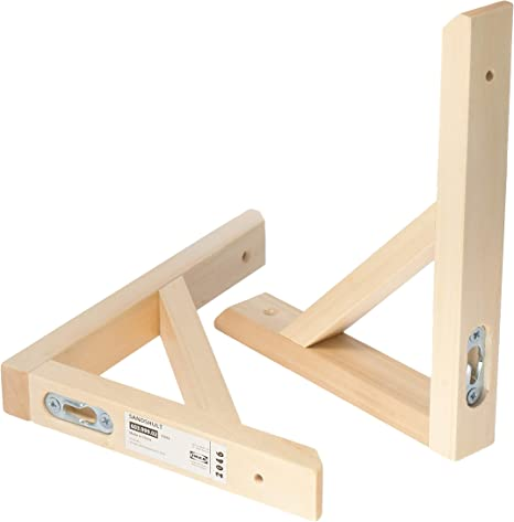 Ikea SANDSHULT Soportes 603.999.02, Aspen, 18 x 22 cm, juego ...