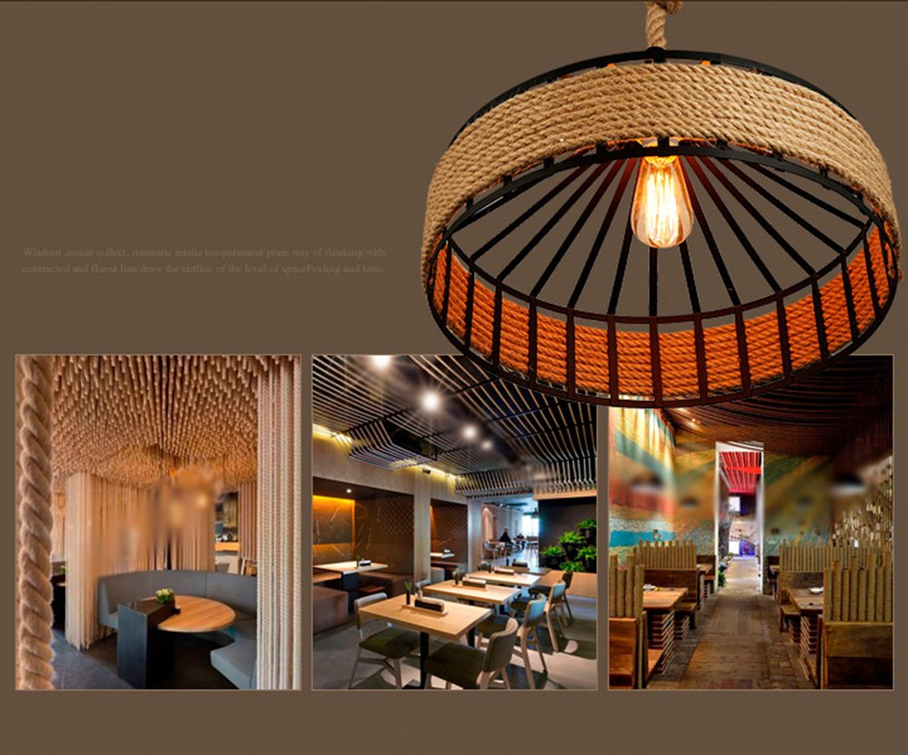 Plafoniere Industriali Diametro 30 : Luce da soffitto rétro ferro industriale vintage loft a