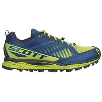 d595145caa3b5 Scott 2016 Men's Kinabalu Supertrac Trail Running Shoes - Blue/Yellow -  242018