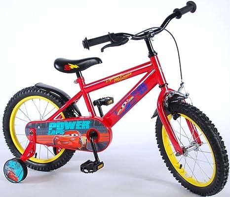 16 Pulgadas Bicicleta Disney Cars 3 bicicleta infantil ruedines ...