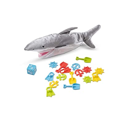 Melissa & Doug Shark Bait Game With Zippered Plush Shark (Great Gift for Girls and Boys for Family Board Game Night - Best for 3, 4, 5, 6, 7 Year Olds and Up): Melissa & Doug: Toys & Games