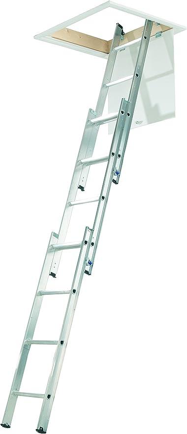 Escalera compacta de 3 secciones, de Abru, 37000, de aluminio ...