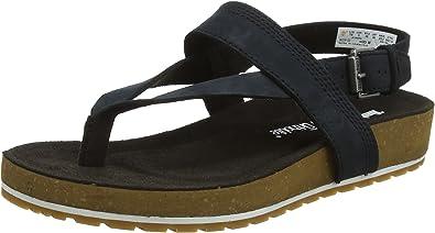 Platform Sandals, Black, Women
