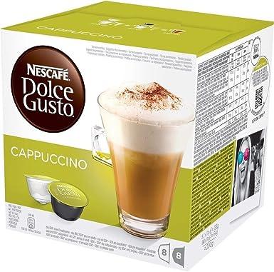 NESCAFÉ Dolce Gusto Café Cappuccino, Pack de 3 x 16 Cápsulas ...