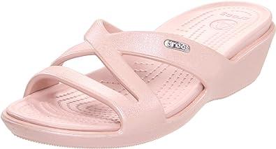 d2a6de9e7e67d Crocs Women s Patricia II Iridescent Wedge Sandal