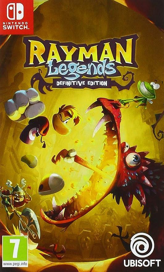 Rayman Legends - Definitive Edition pour Nintendo Switch [Importación francesa]: Amazon.es: Electrónica