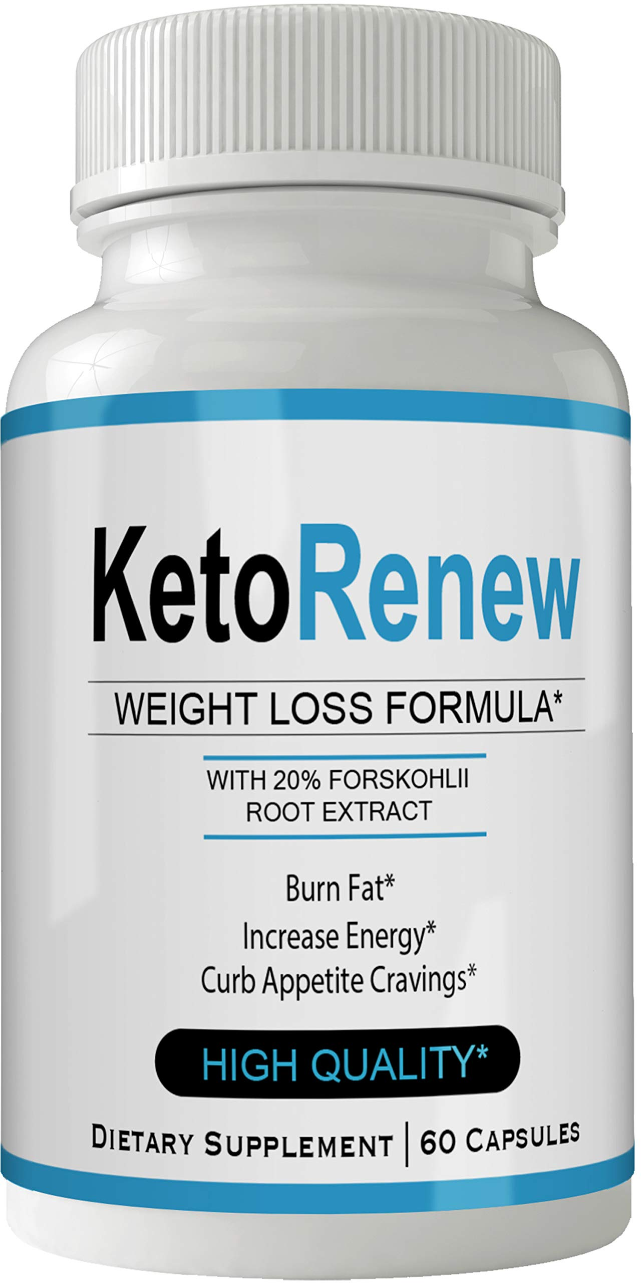 Keto Renew Diet Pill Forskolin for Weight Loss Pills Tablets Supplement - Capsules with Natural High Quality Pure Forskolin Extract Diet Pills
