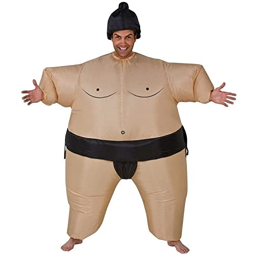 AirSuits Sumo Wrestler Inflatable Fancy Dress Costume Suit