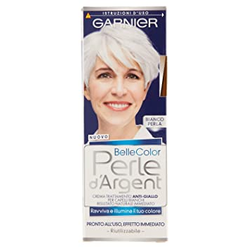 Garnier Belle Color Perle d Argent Crema Trattamento Anti-Giallo ... 37787e4d464b
