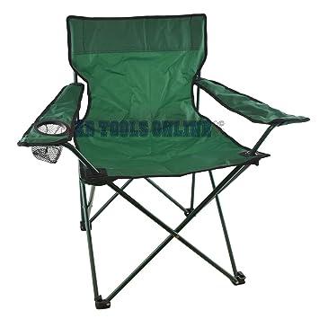 Chaise De Camping Pliante Toile Porte Gobelet Festival Extrieur Jardin CMP28