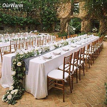 Amazon Hatabo Runner Table Wedding Table Dot Runner Striped