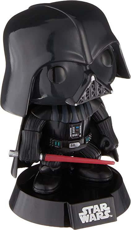 Bobble Heads--Star Wars Darth Vader Pop Vinyl Bobble Figure