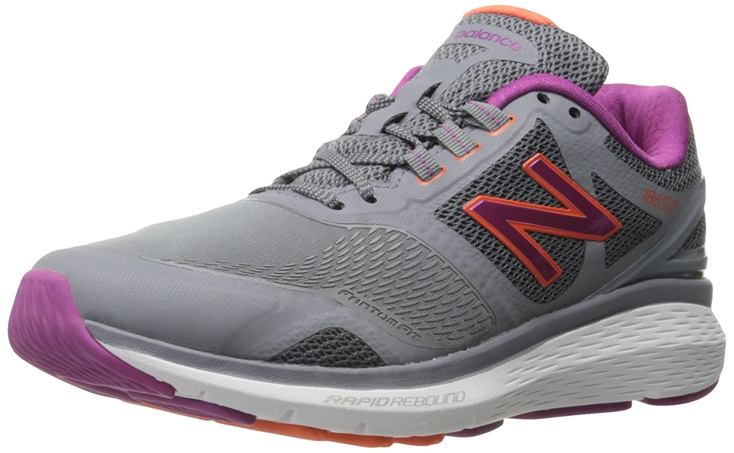 New Balance Women's WW1865v1 Walking Shoe B019DLCWBQ 8 2E US|Grey