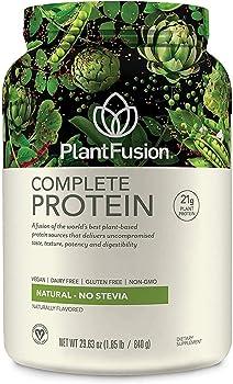 PlantFusion Complete Plant-Based Pea Protein Powder, Non-GMO, Vegan, Dairy-Free, Gluten-Free