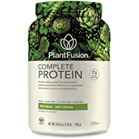 PlantFusion Complete Plant Based Pea Protein Powder, Non-GMO, Vegan, Dairy Free,...