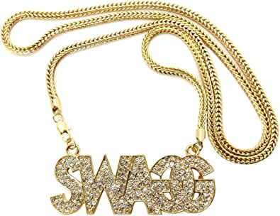 collier swag femme