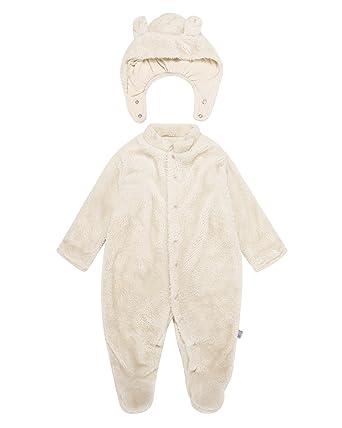 0fa3a6312 Kidsform Unisex Baby 2PCS Bodysuits Winter Fluffy Long Sleeve ...