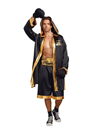 006814f42bbe Amazon.com  Dreamgirl Men s World Champion Costume  Clothing