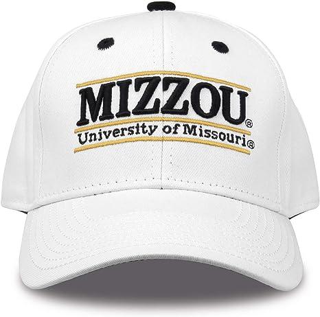 Amazon Com The Game Ncaa Missouri Tigers Unisex Nickname Bar Design Hat White Adjustable Clothing