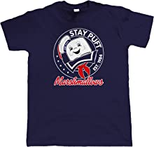 vectorbomb Stay Puft, Mens Movie Inspired Funny T Shirt