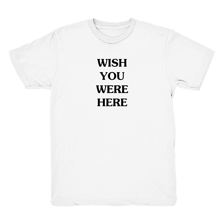 000f0f81c9a4 Astroworld Wish You were Here Travis Scott Album Merch Tee - White    Amazon.com