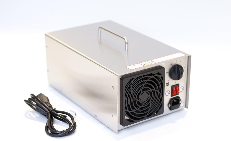 Generador de ozono profesional, 13900 mg/h, 14 g/h, dispositivo de ozono, purificador de aire N14 para coche y vivienda: Amazon.es: Bricolaje y herramientas