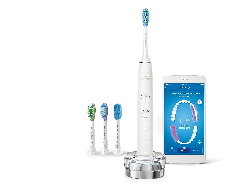 Philips HX9984/07 cepillo eléctrico para dientes Adulto Cepillo dental sónico Blanco - Cepillo de dientes eléctrico (Batería, Integrado, 504 h, 110-220 V, ...