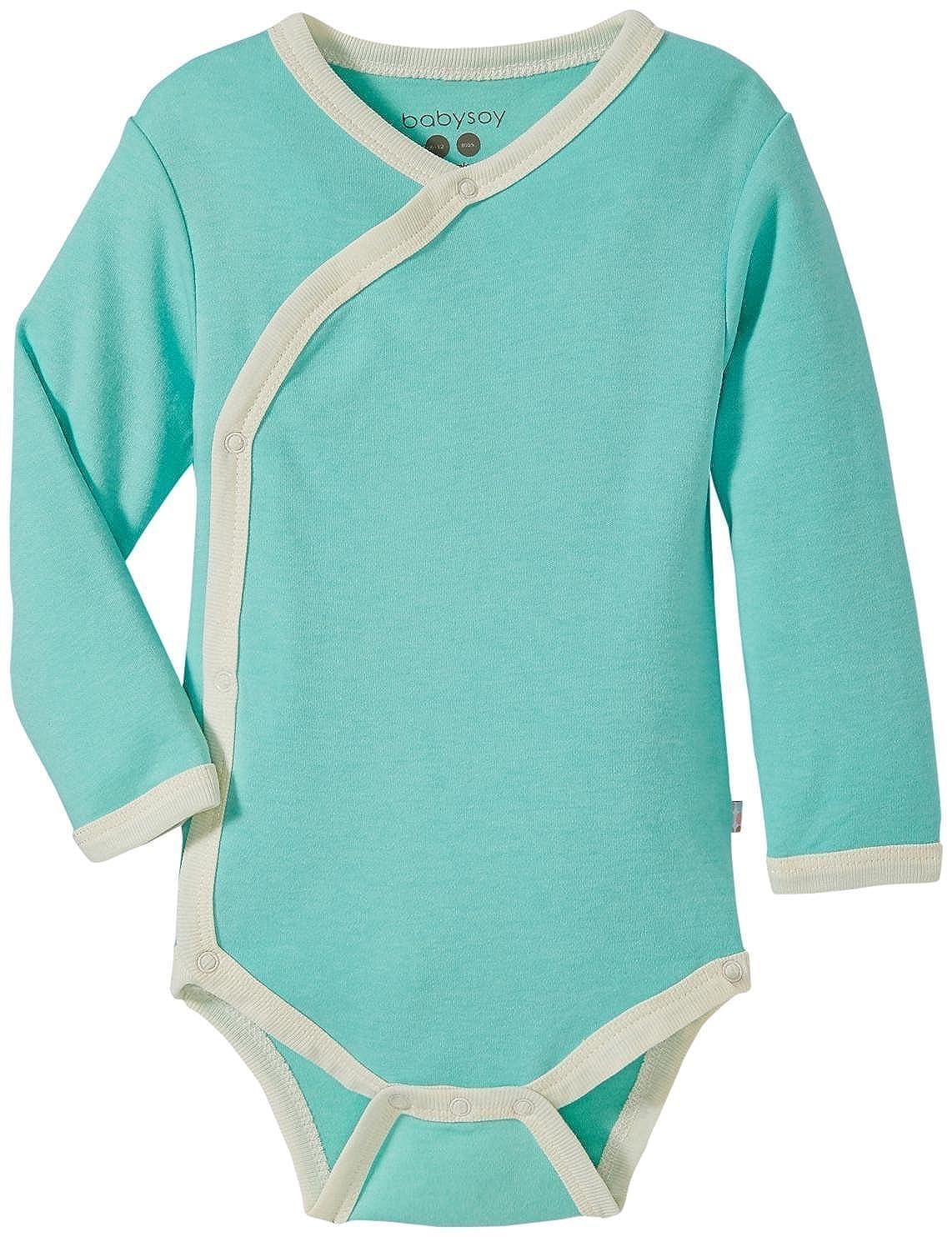 Babysoy Unisex-Baby Eco Essential Kimono Bodysuit 508AC01
