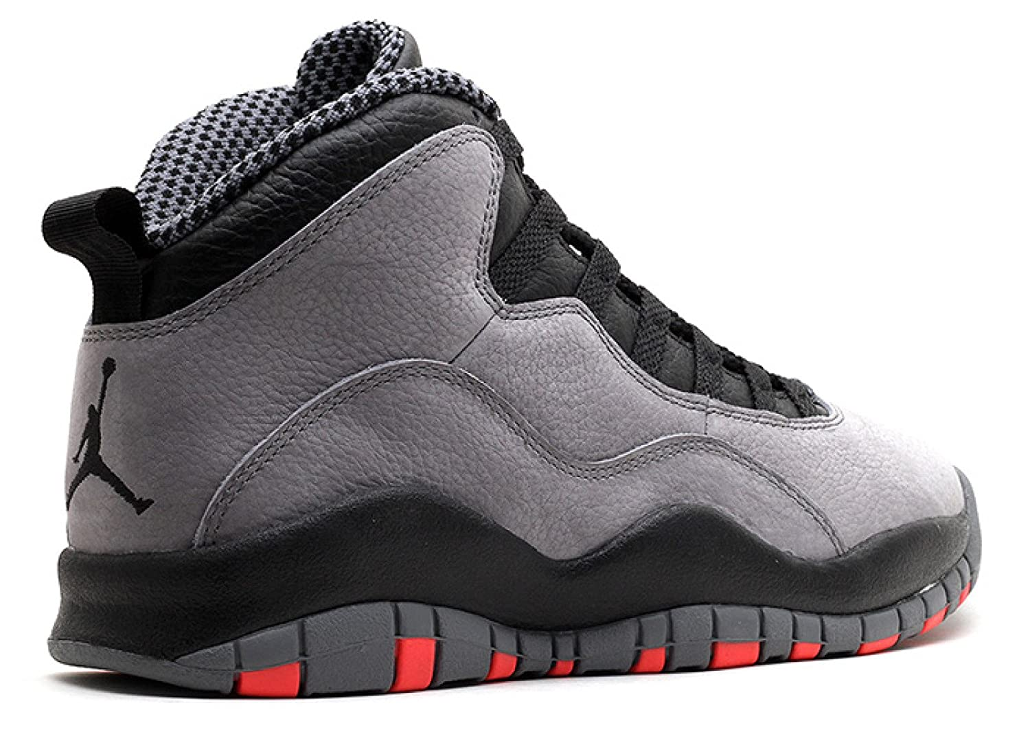Amazon.com | Air Jordan Retro 10 Men\u0027s Basketball Shoes Cool Grey/Infrared-Black  310805-023 | Basketball