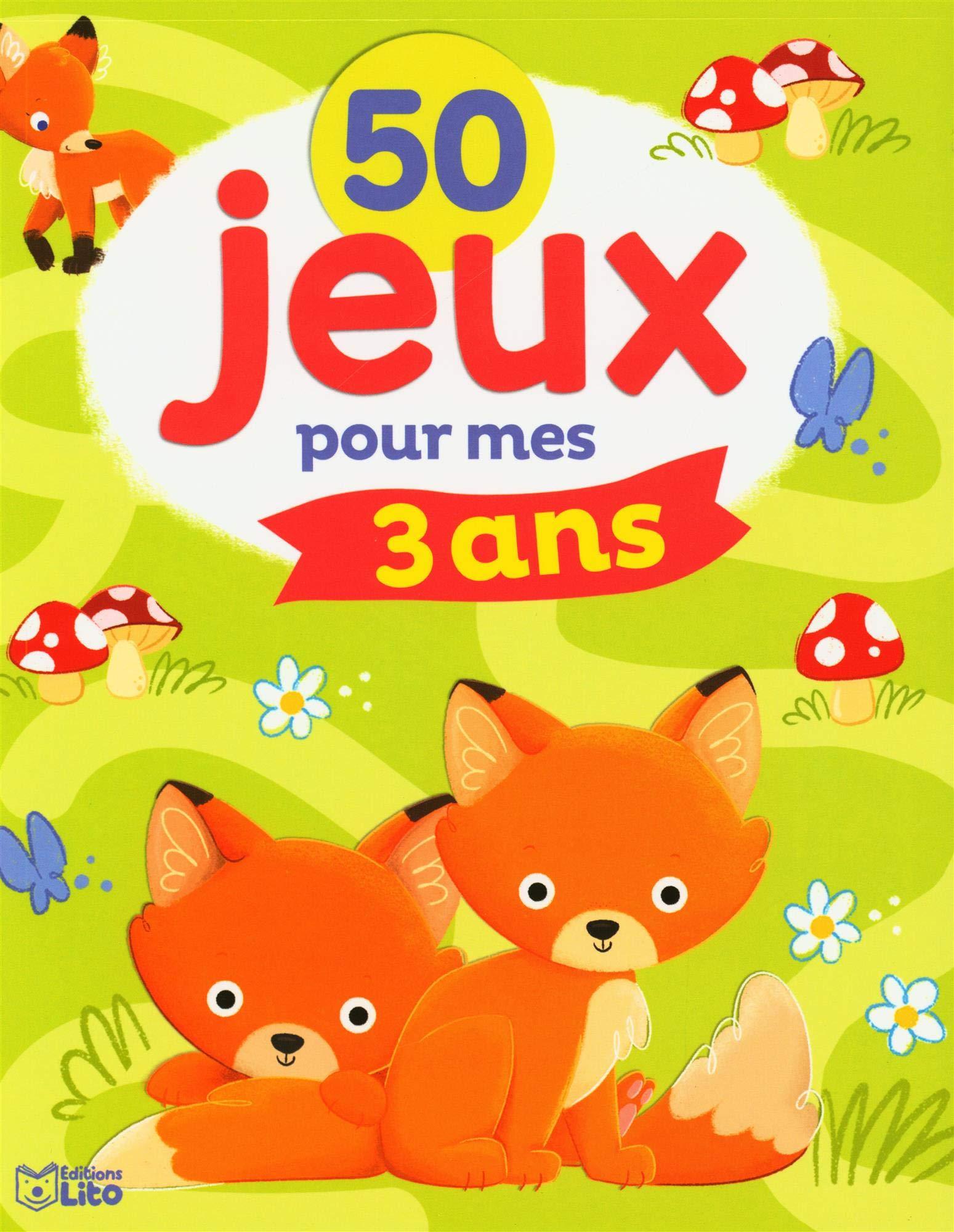 Amazon Fr 50 Jeux 50 Jeux Pour Mes 3 Ans Gey Trenado Eva Maria Livres